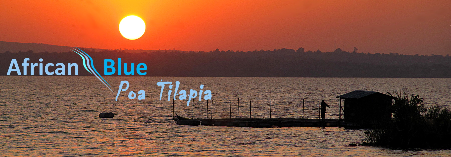 Sunset at Lake Victoria